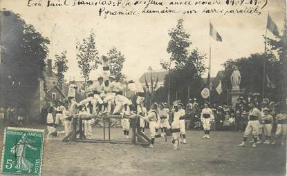 "CARTE PHOTO FRANCE 86 ""Poitiers, Ecole St Stanislas 1908"""