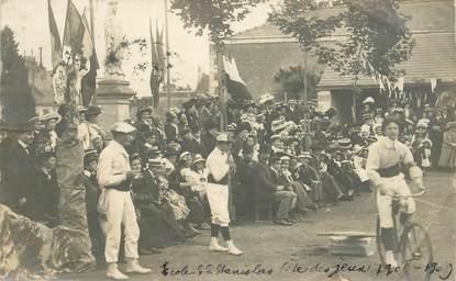 """CARTE PHOTO FRANCE 86 """"Poitiers, Ecole St Stanislas  1908"""""""