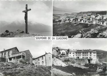 """/ CPSM FRANCE 66 """"Souvenir de Llagonne"""""""