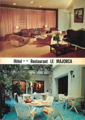 """/ CPSM FRANCE 66 """"Perpignan, hôtel Restaurant Le Marjorca """""""