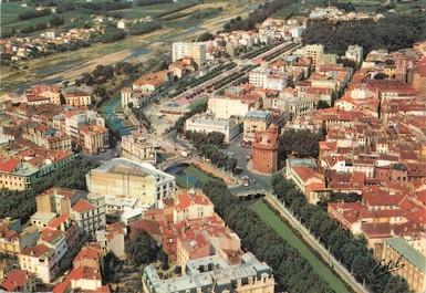 """/ CPSM FRANCE 66 """"Perpignan, vue aérienne"""""""