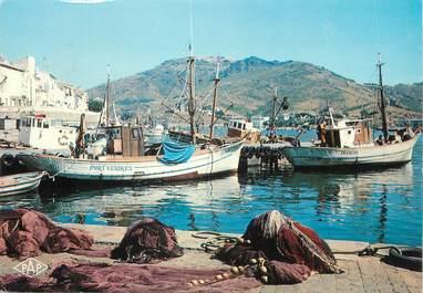 """/ CPSM FRANCE 66 """"Port Vendres, le port de pêche"""""""