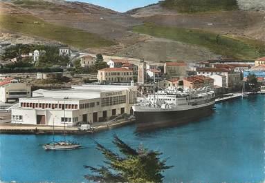 "/ CPSM FRANCE 66 ""Port Vendres, nouvelle gare maritime"""