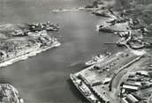 """66 PyrÉnÉe Orientale / CPSM FRANCE 66 """"Port Vendres, vue aérienne sur le port"""""""