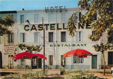 """/ CPSM FRANCE 66 """"Port Vendres, hôtel Castellane"""""""