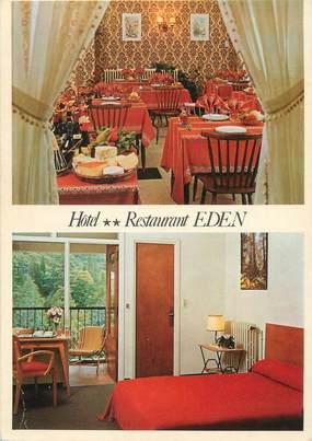 """/ CPSM FRANCE 66 """"Vernet Les Bains, hôtel restaurant Eden"""""""
