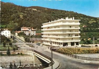 """/ CPSM FRANCE 66 """"Vernet Les Bains, résidence Le Palais"""""""