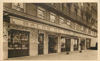 """CPA FRANCE 75008 """"Paris, Restaurant salon de Thé Saint Augustin, Bld Malesherbes"""""""