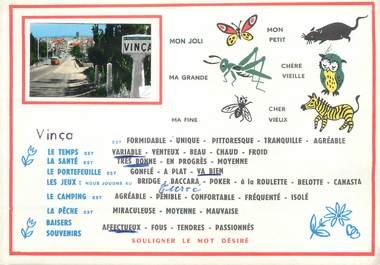 """/ CPSM FRANCE 66 """"Vinça"""""""
