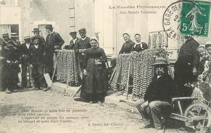 """CPA FRANCE 85 """"La Vendée pittoresque, aux marais vendéens"""""""