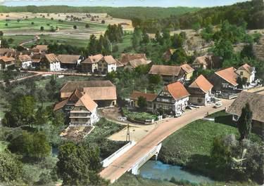 """/ CPSM FRANCE 67 """"Bettendorf, le pont sur la rivière"""""""