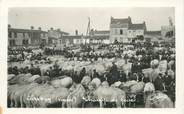 "85 Vendee CARTE PHOTO FRANCE 85 ""Aizenay, le champ de foire"""