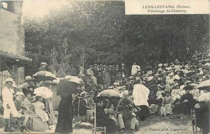 "CPA FRANCE 26  ""Lens Lestang, Pèlerinage de Chatenay"""