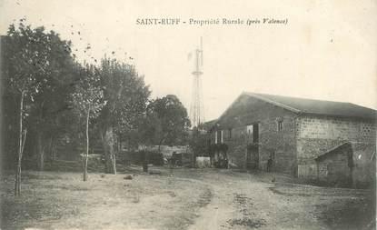 "CPA  FRANCE 26  ""'Saint Ruff, propriété rurale"""