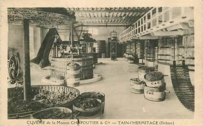 """CPA  FRANCE 26  """"'Tain l'Hermitage, cuverie de la maison Chapoutier & Cie"""""""