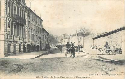 """/ CPA FRANCE 38 """"Vienne, la route d'Avignon"""""""