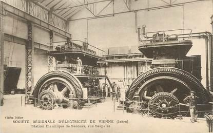 """/ CPA FRANCE 38 """"Société Régionale d'Electricité de Vienne"""""""