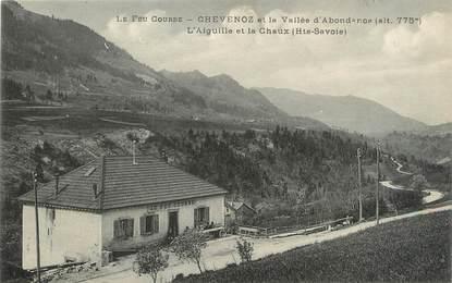 """/ CPA FRANCE 74 """"Chevenoz et la vallée d'Abondance"""""""