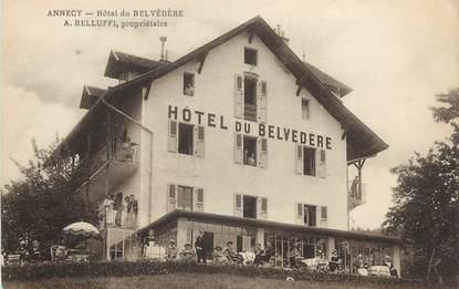 """/ CPA FRANCE 74 """"Annecy, hôtel du Belvédère"""""""