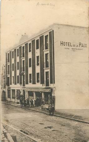 """/ CPA FRANCE 74 """"Annecy, hôtel de la Paix"""""""