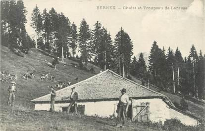 """/ CPA FRANCE 74 """"Bernex, chelet et troupes de Larasse"""""""