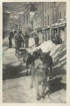 """CPA FRANCE 26 """"Beurre en Vercors, attelage servant au ravitaillement des skieurs de l'Hotel Bellier"""""""