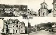 """60 Oise CPSM FRANCE 60 """"Tracy le Mont"""" / Vues de la ville"""