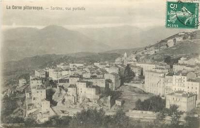 """CPA FRANCE 20 """"Corse, Sartène, vue partielle"""""""