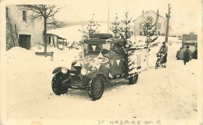 "CARTE  PHOTO FRANCE 26 ""  Saint Nazaire en Royans""  /  AUTOMOBILE"