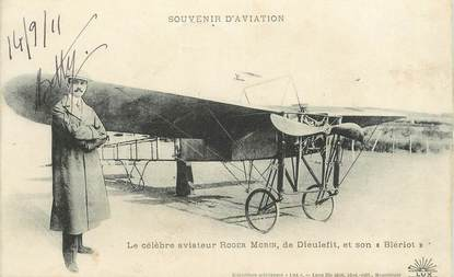 "CPA  FRANCE 26  ""Dieulefit"" / AVIATION"