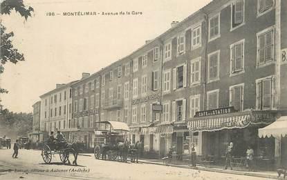 """CPA  FRANCE 26  """"Montélimar, avenue de la gare"""""""