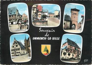 "/ CPSM FRANCE 67 ""Dambach la Ville """