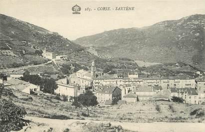 """CPA FRANCE 20 """"Corse, Sartène, vue générale"""""""