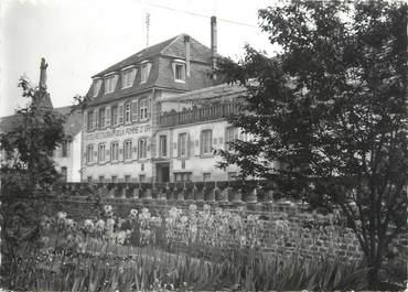 "/ CPSM FRANCE 67 ""Niederhaslach, hôtel restaurant de la Pomme d'Or"""