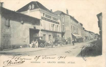 "CPA  FRANCE 69 ""Meyzieu, Grand Hotel Aujal"""