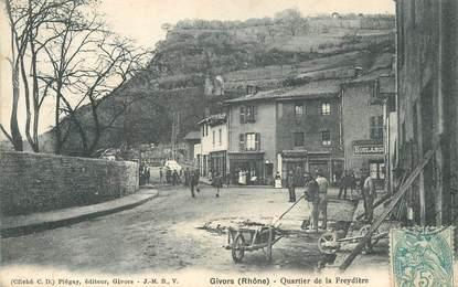 """CPA  FRANCE 69 """"Givors, quartier de la Freydière"""""""