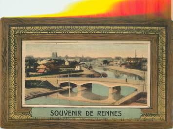 """CPA  FRANCE 35 """"Rennes"""" / CARTE A SYSTEME"""