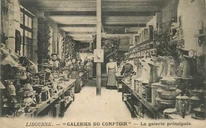 "CPA  FRANCE 33 ""Libourne, les galeries du Comptoir"""