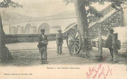 "CPA  FRANCE 46 ""Cahors, les cordiers cadurciens"""