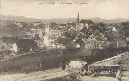 "/ CPA FRANCE 74 ""Cruseilles, vue générale"""