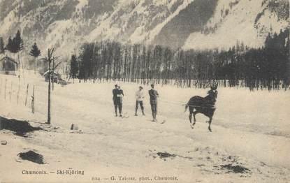 """/ CPA FRANCE 74 """"Chamonix, ski Kjöring"""""""