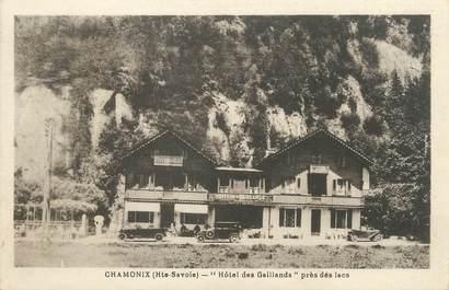 """/ CPA FRANCE 74 """"Chamonix, hôtel des Gaillands"""""""