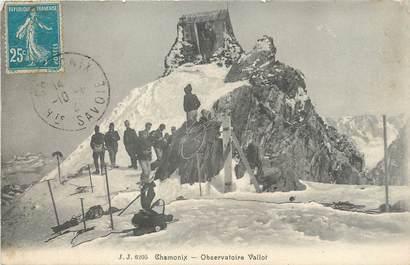 "/ CPA FRANCE 74 ""Chamonix, observatoire Vallot """