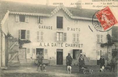 """CPA FRANCE 69 """"Cenves, A la Gaieté Charvet"""""""
