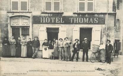 "CPA FRANCE 69 ""Condrieu, ancien hotel Thomas"""