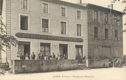 "CPA FRANCE 69 ""Loire, restaurant Michalot"""