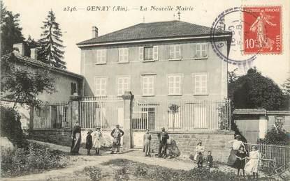 """CPA FRANCE 69 """"Genay, la nouvelle mairie"""""""