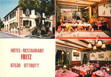"/ CPSM FRANCE 67 ""Ottrott, hôtel restaurant Fritz"""