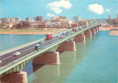 """CPSM IRAK """"Bagdad, pont de la République"""""""