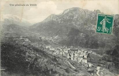 """CPA FRANCE 20 """"Corse, Vico, vue générale"""""""